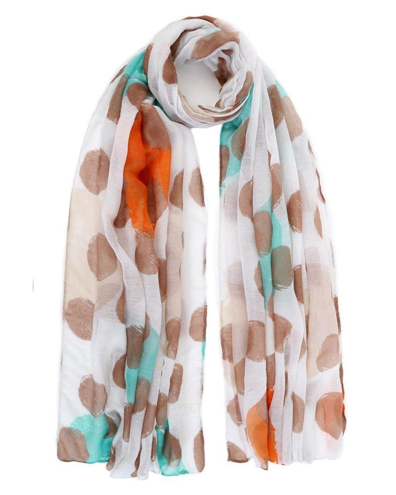 Beige foulard-pareo