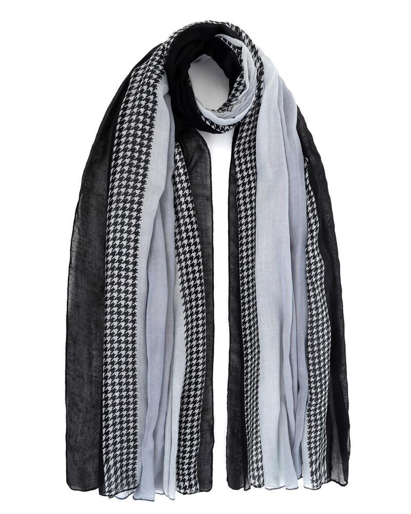 Schwarz foulard-pareo