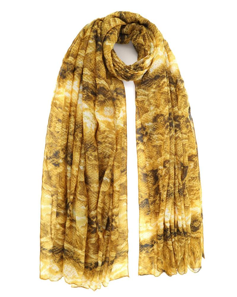 Yellow foulard-pareo