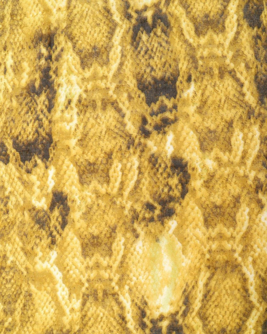 Φουλάρι-παρεό κίτρινο