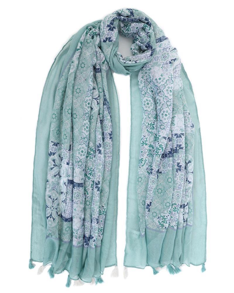 Grün foulard-pareo