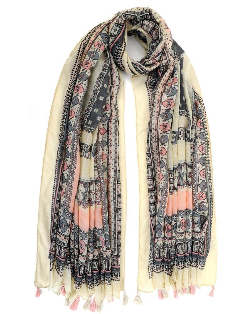 Gelb foulard-pareo