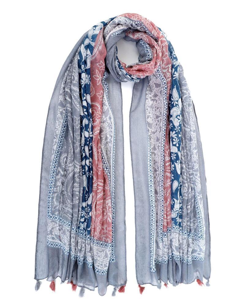 Grau foulard-pareo