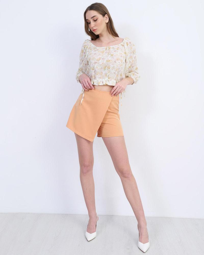 Σορτς πορτοκαλί