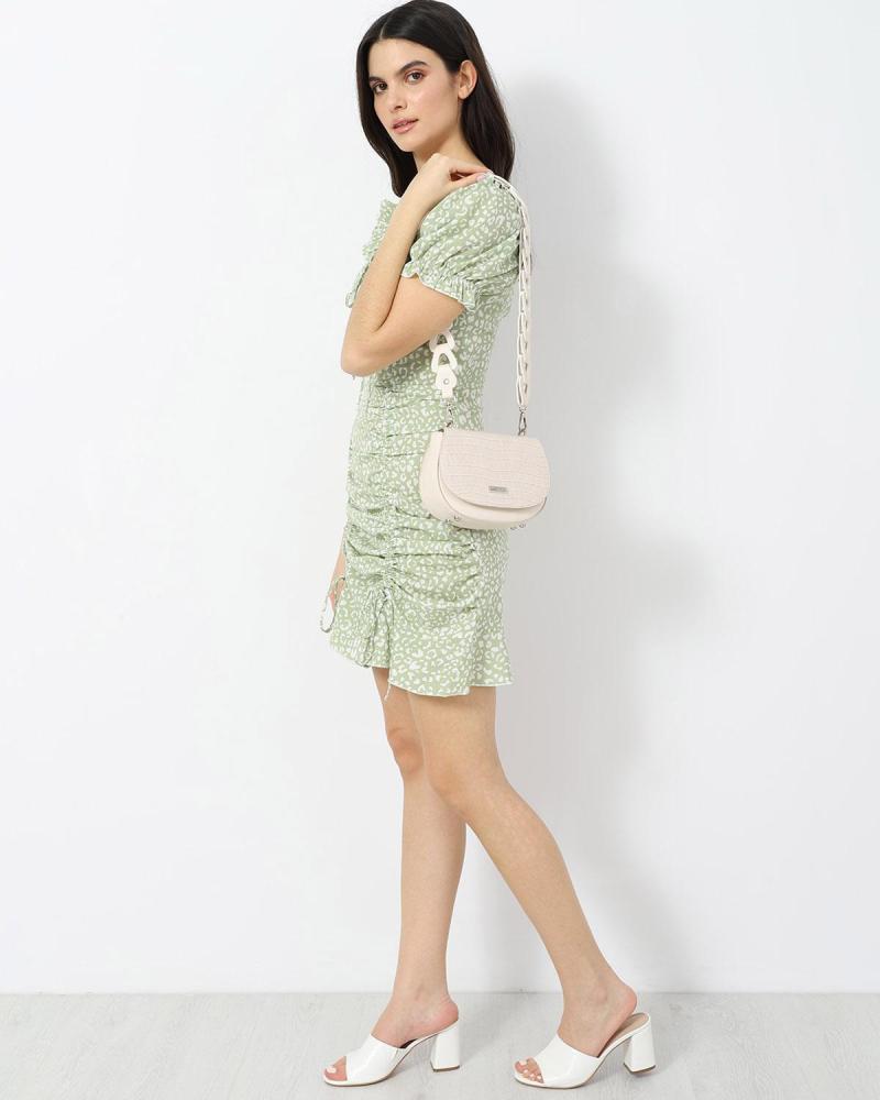 Μίνι φόρεμα πράσινο