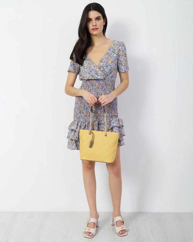 Μίνι φόρεμα μωβ