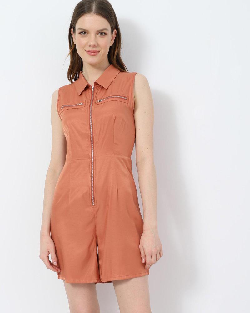 Orange overall