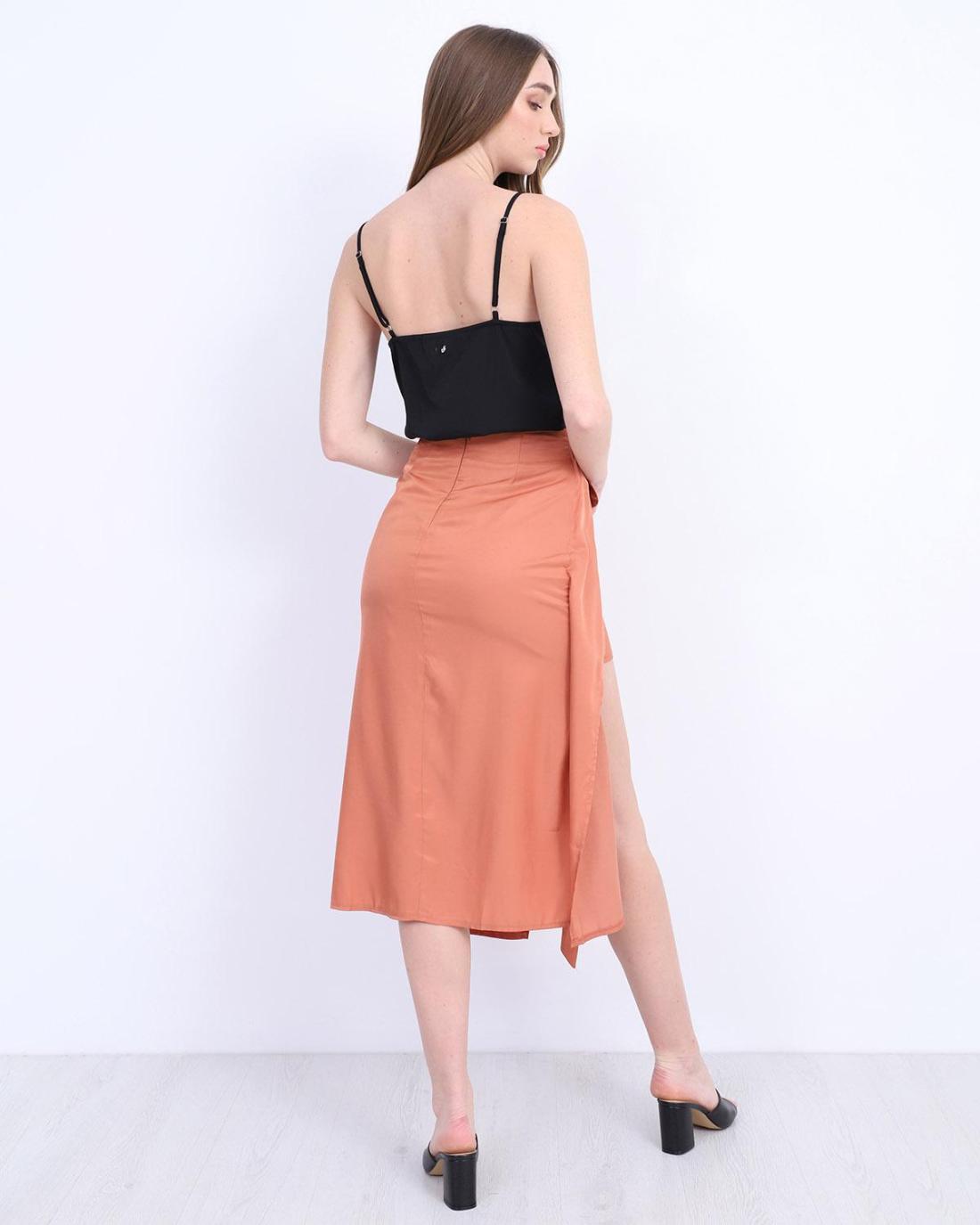 Φούστα πορτοκαλί