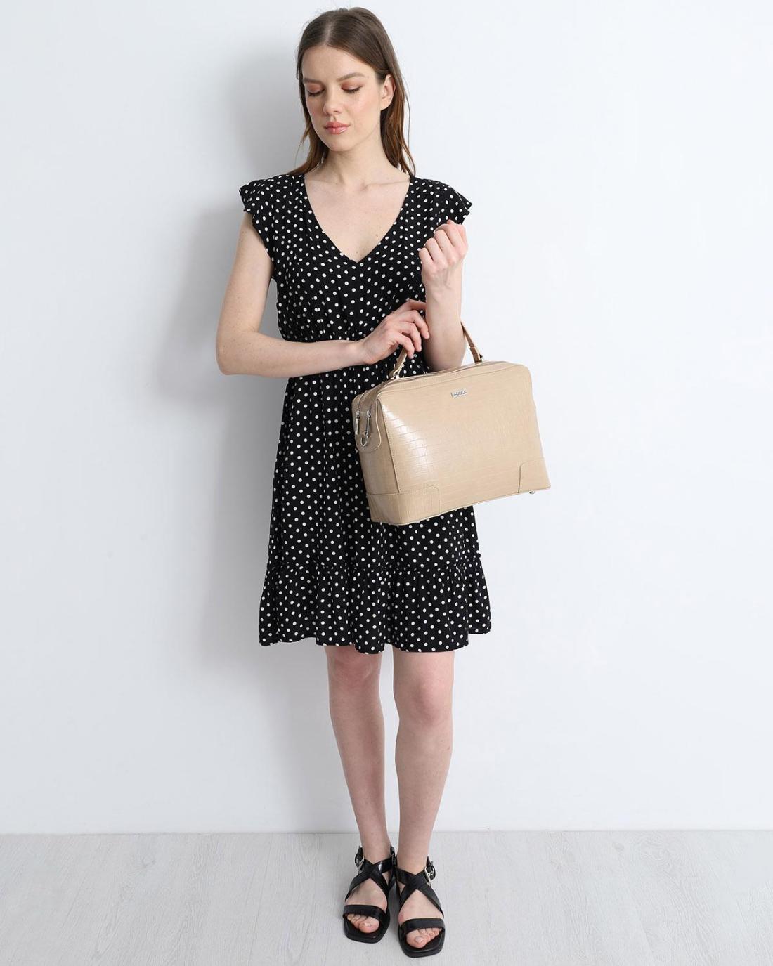 Μίνι φόρεμα μαύρο
