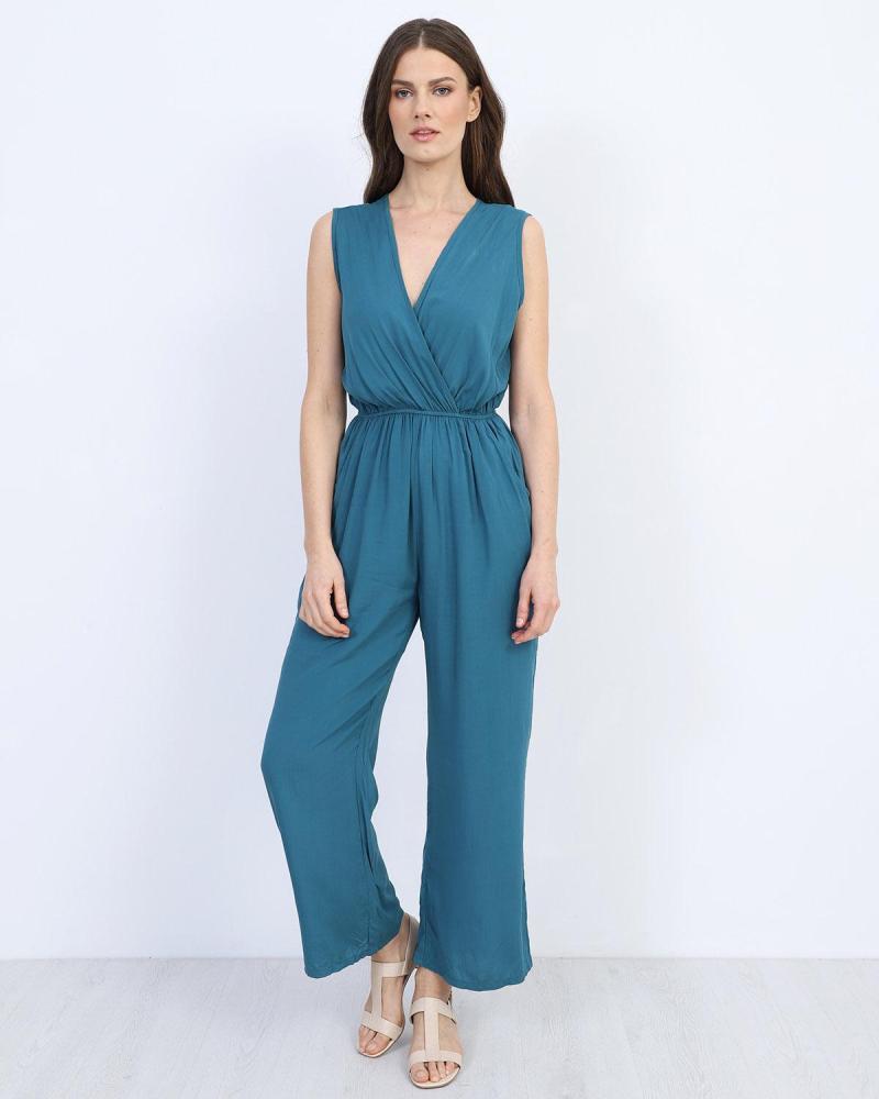 Blaue overall