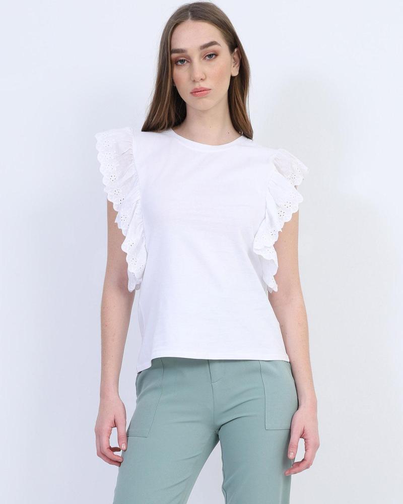 Μπλουζάκι t-shirt άσπρο
