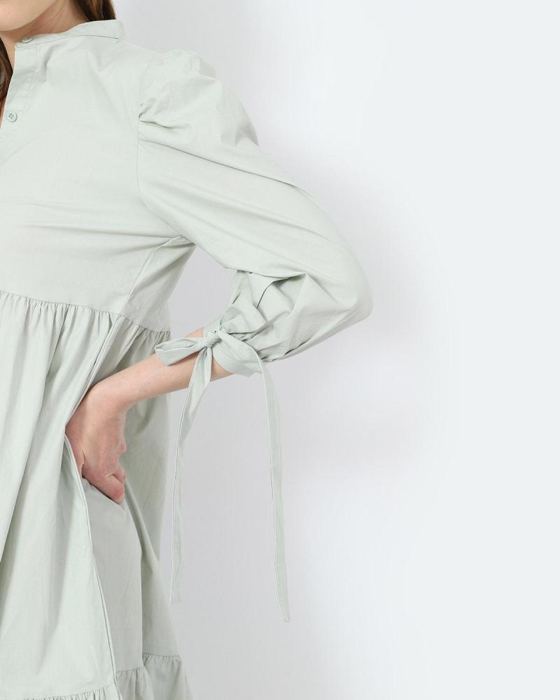 Mint midi dress