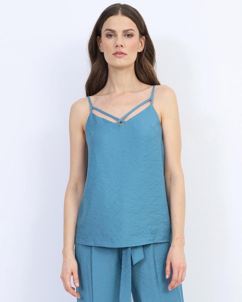 Blaue bluse