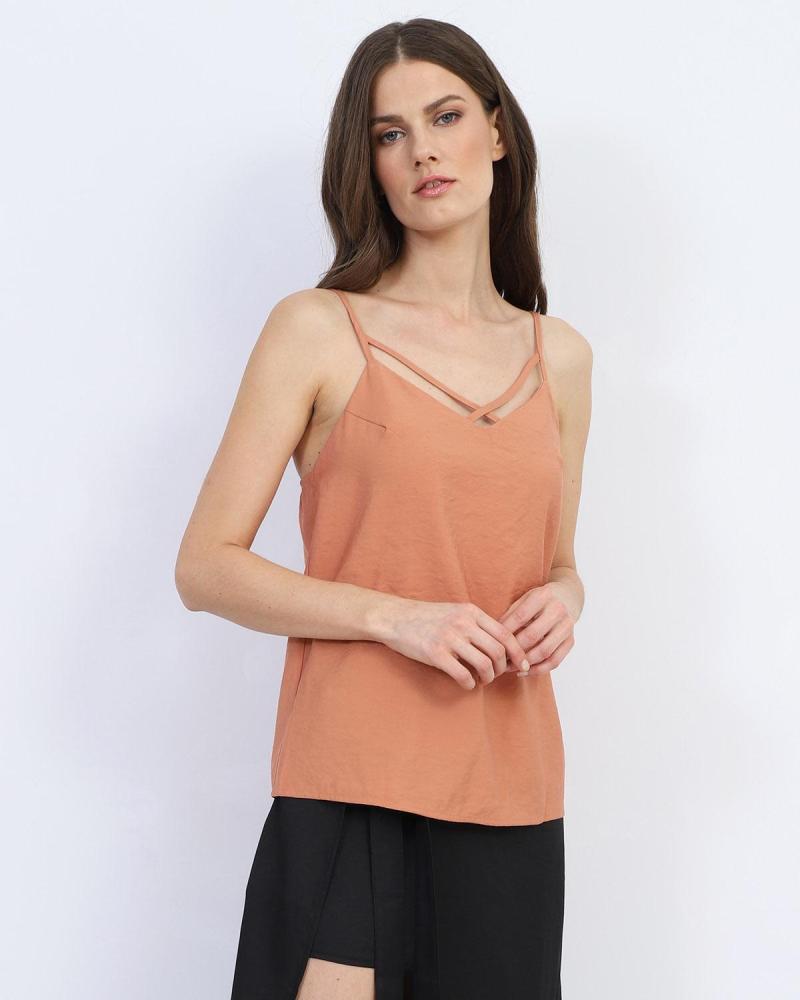 Μπλούζα πορτοκαλί