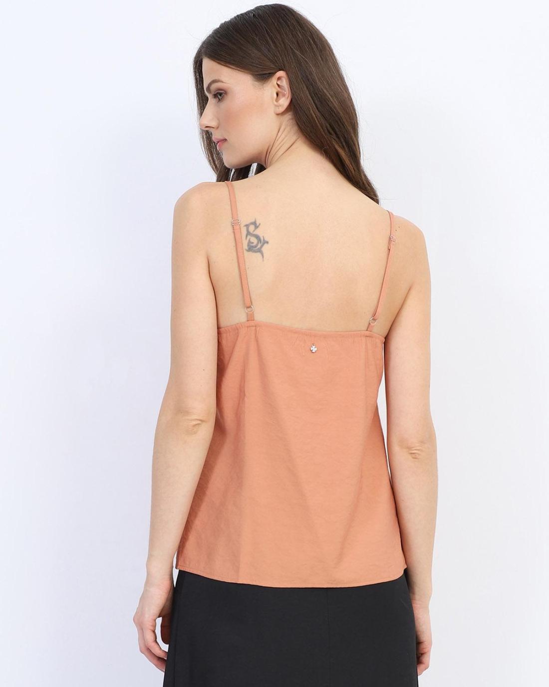 Orange bluse