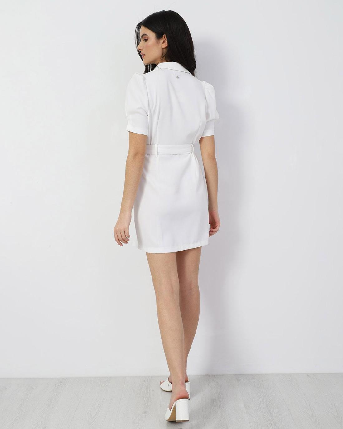Μίνι φόρεμα άσπρο