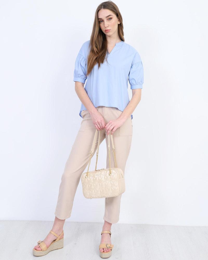 Μπλούζα γαλάζια