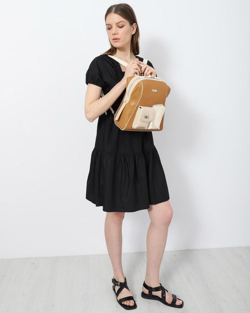Schwarz mini kleid