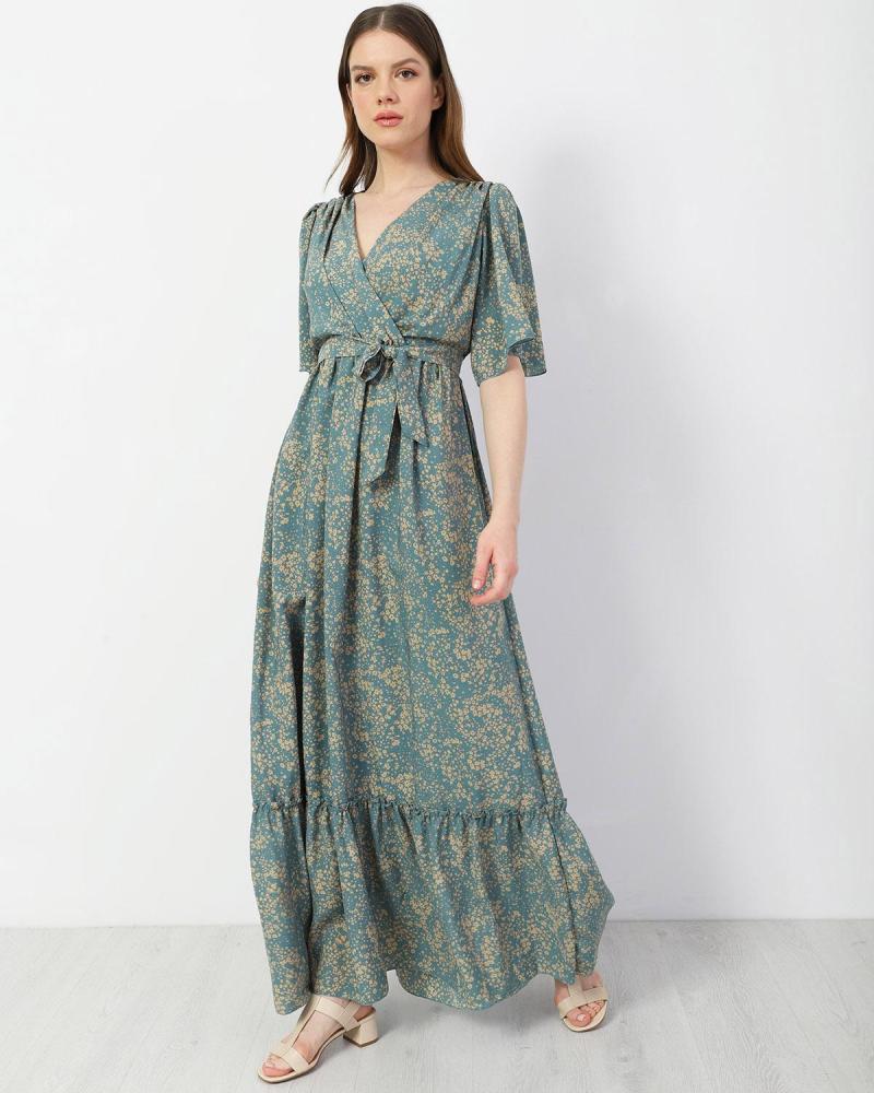 Μάξι φόρεμα γαλάζιο