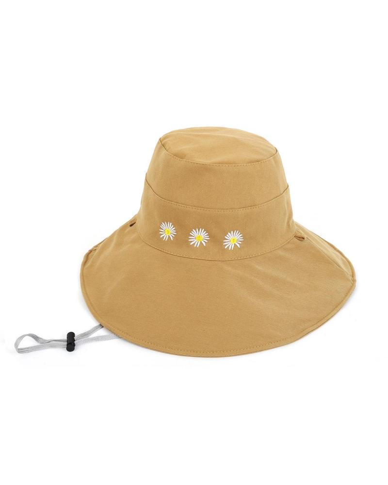 Καπέλο bucket μπεζ