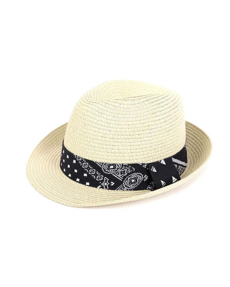 Ψάθινο καπέλο μπεζ