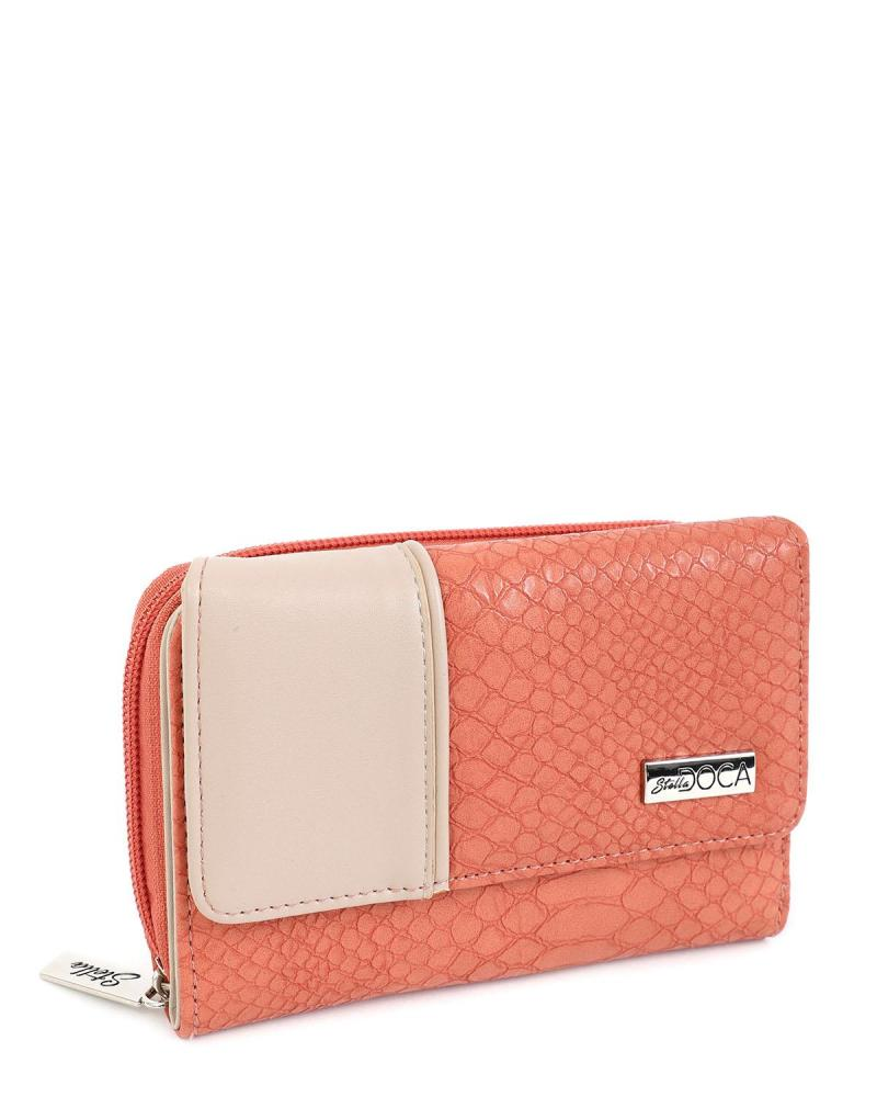 Rosa portemonnaie