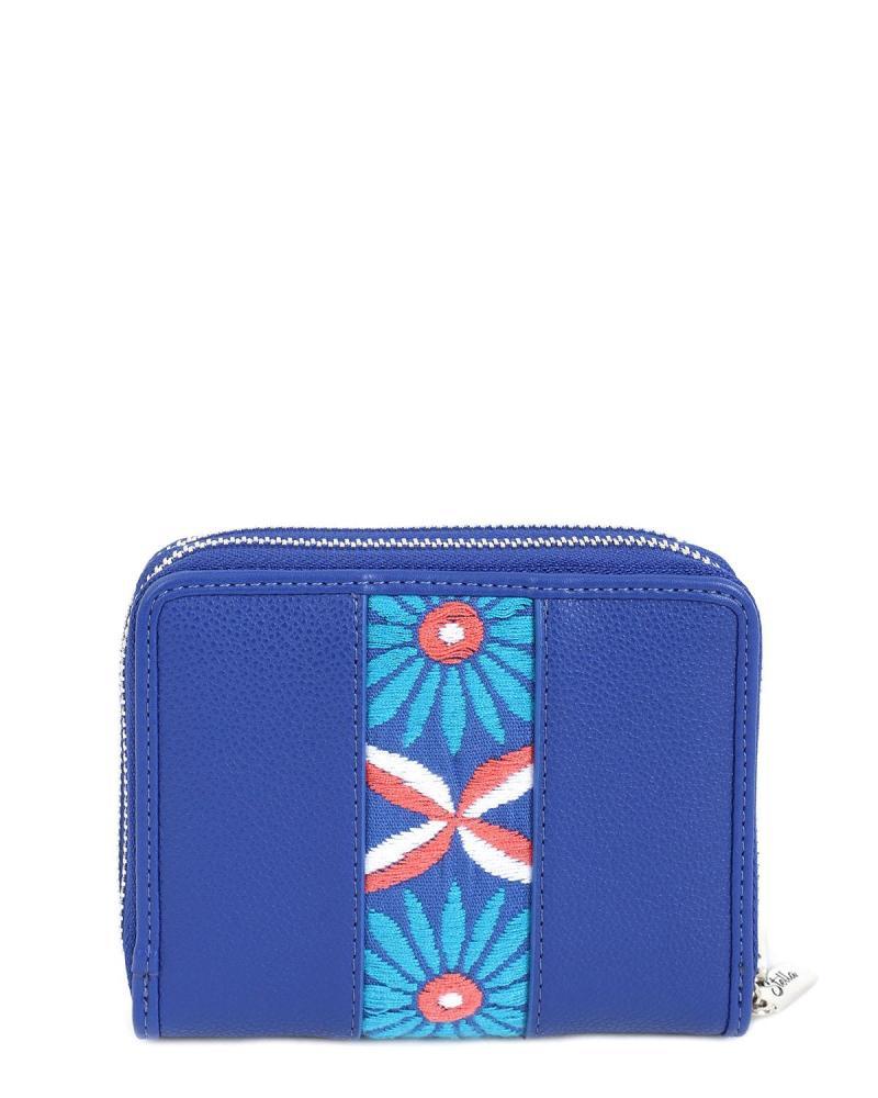 Blau portemonnaie