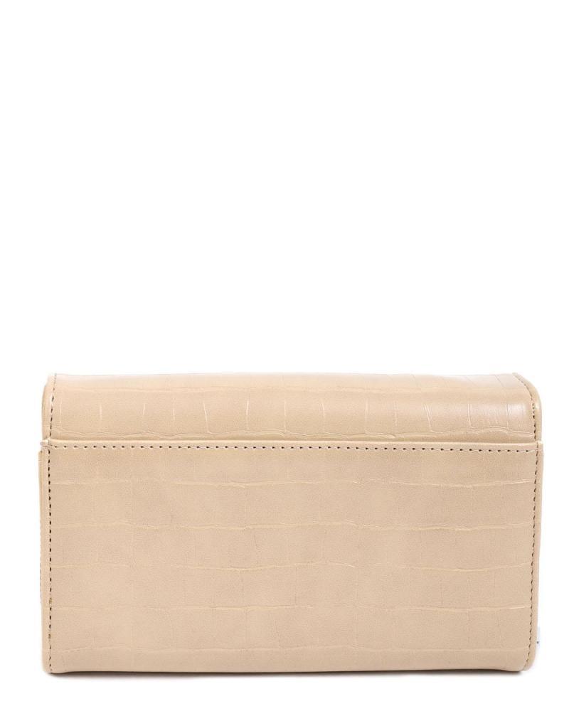 Beige portemonnaie
