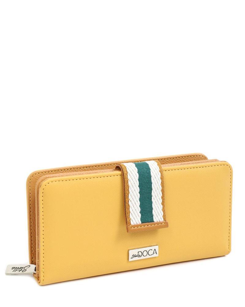 Gelb portemonnaie