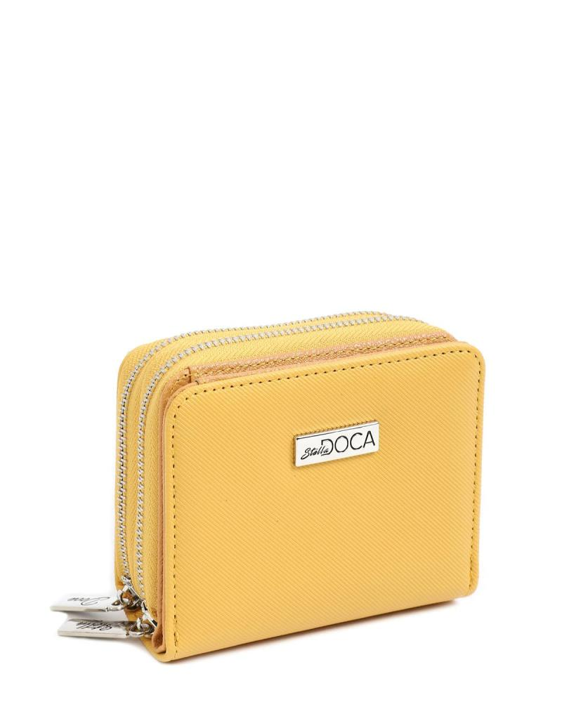 Yellow wallet