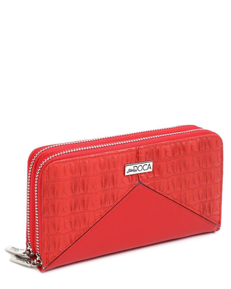 Rot portemonnaie