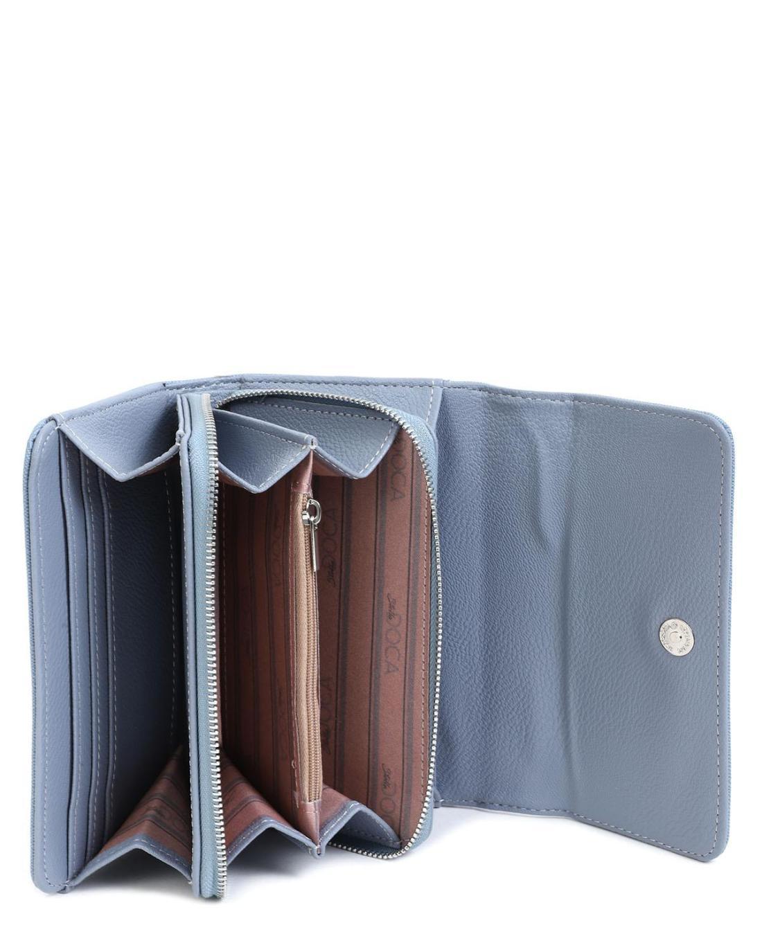 Hellblau portemonnaie