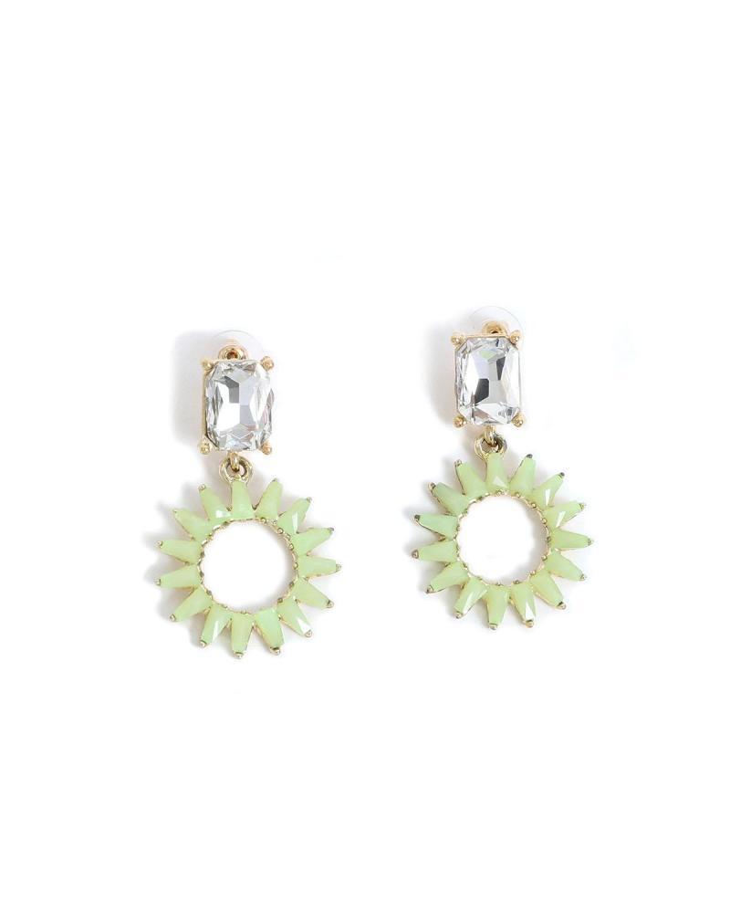 Σκουλαρίκια πράσινα