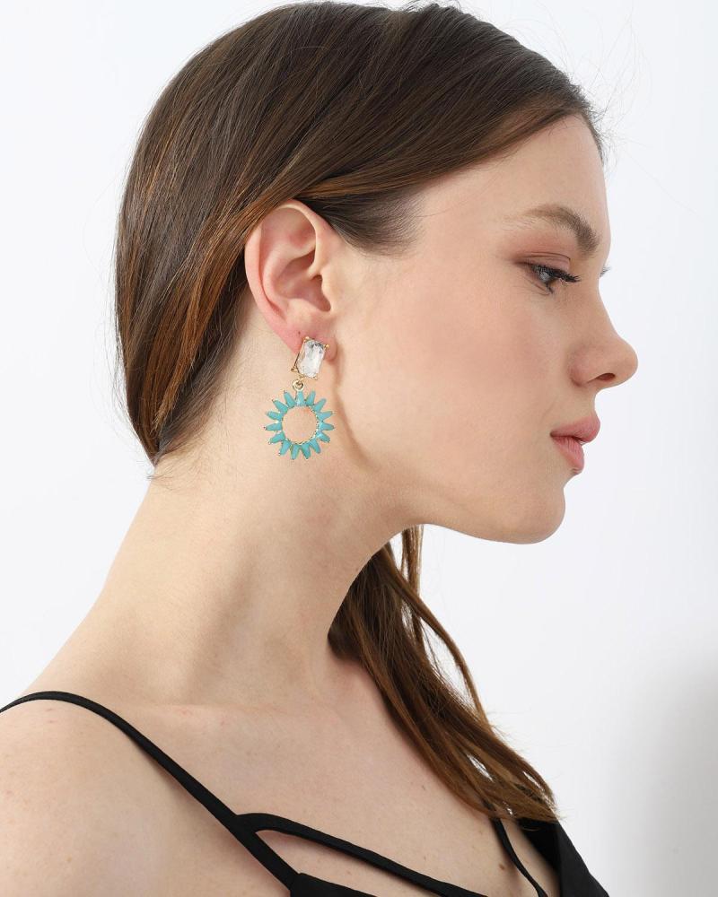 Σκουλαρίκια μπλε