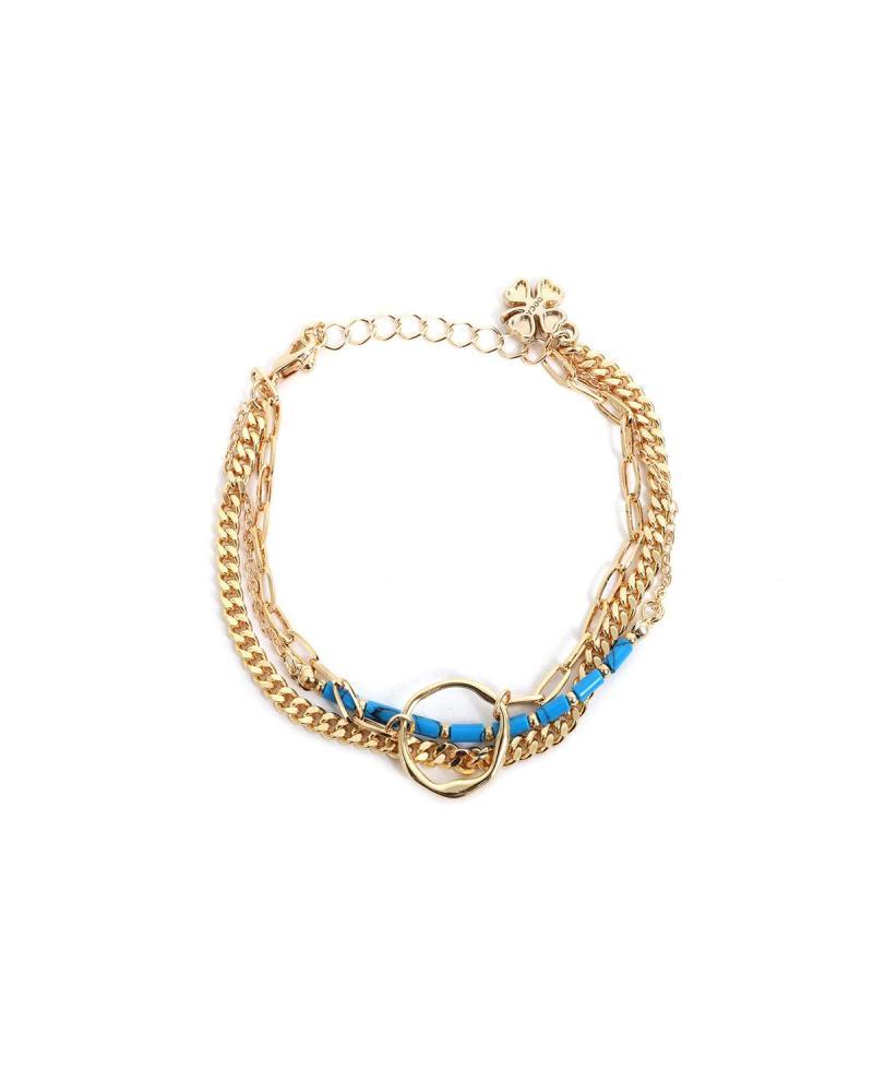 Blau armband