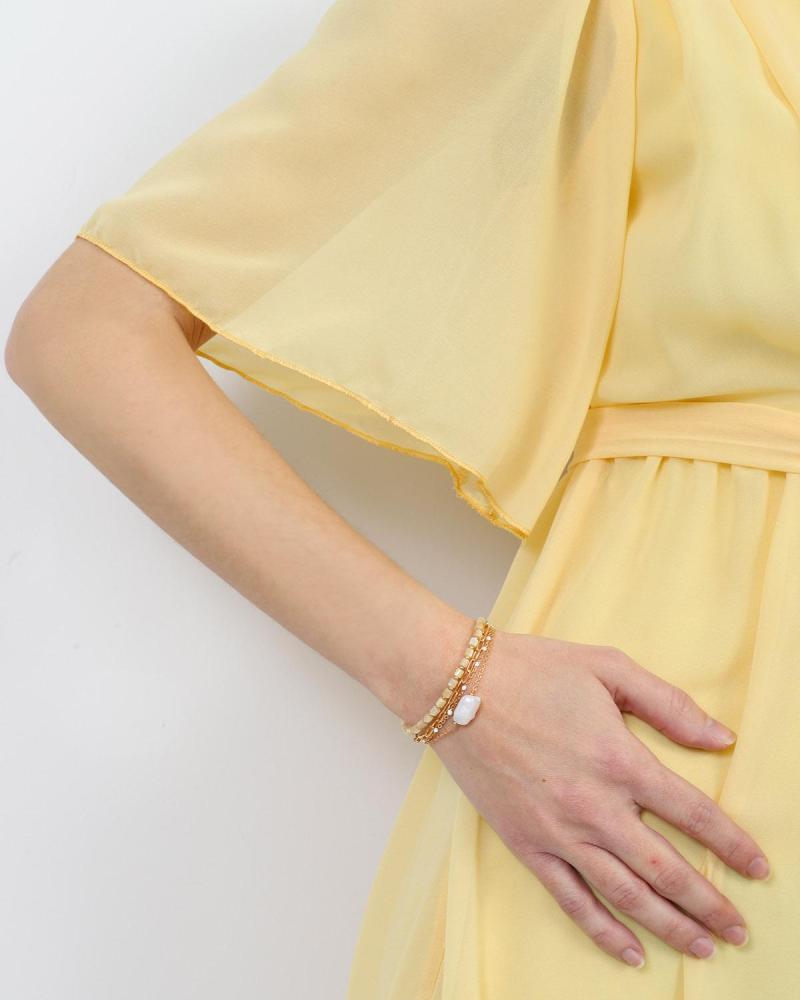 Beige armband