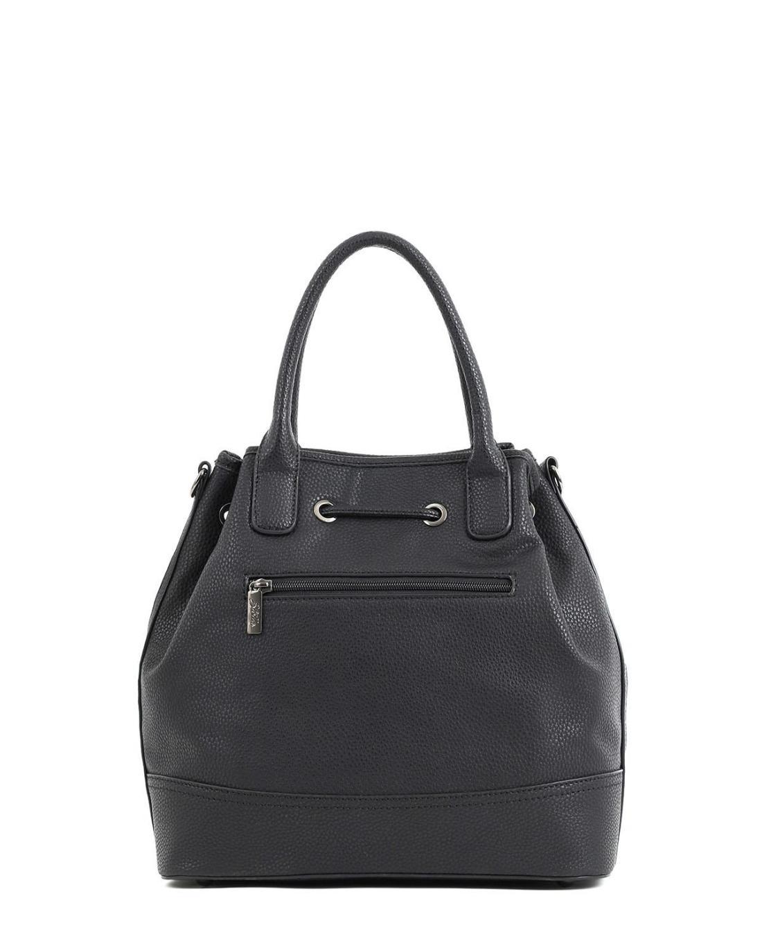 Τσάντα πουγκί μαύρη