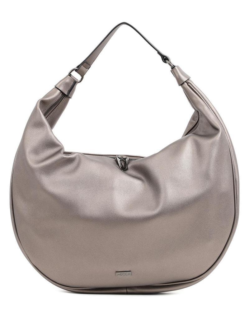 Καθημερινή τσάντα χειρός/ώμου ασημί