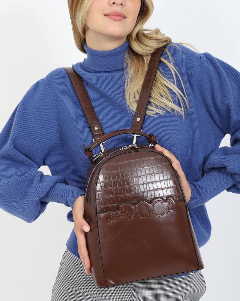 Braune rucksack
