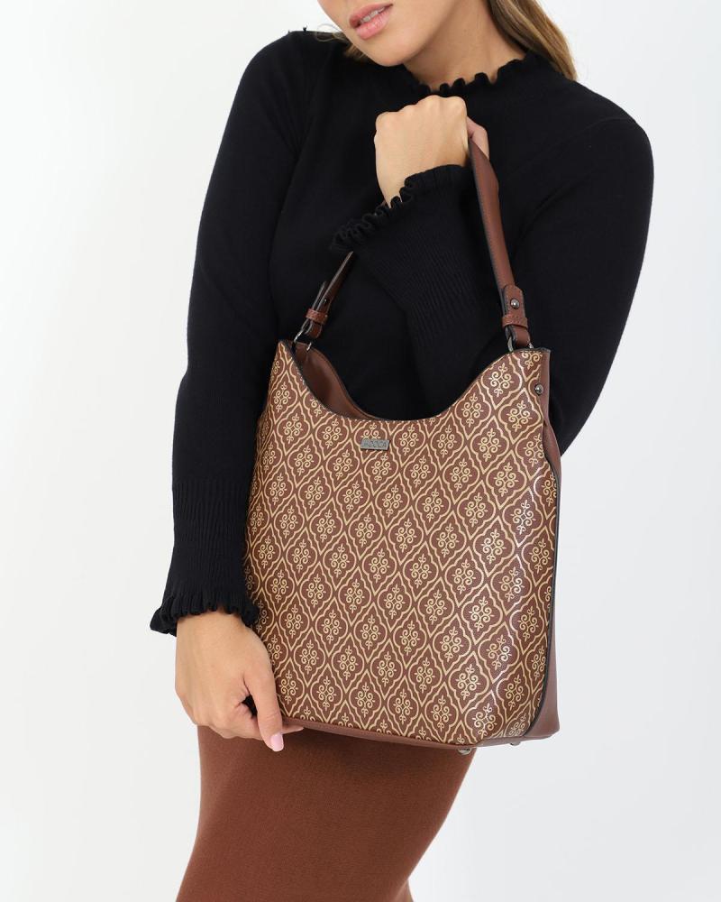 Schwarze schultertasche/handtasche