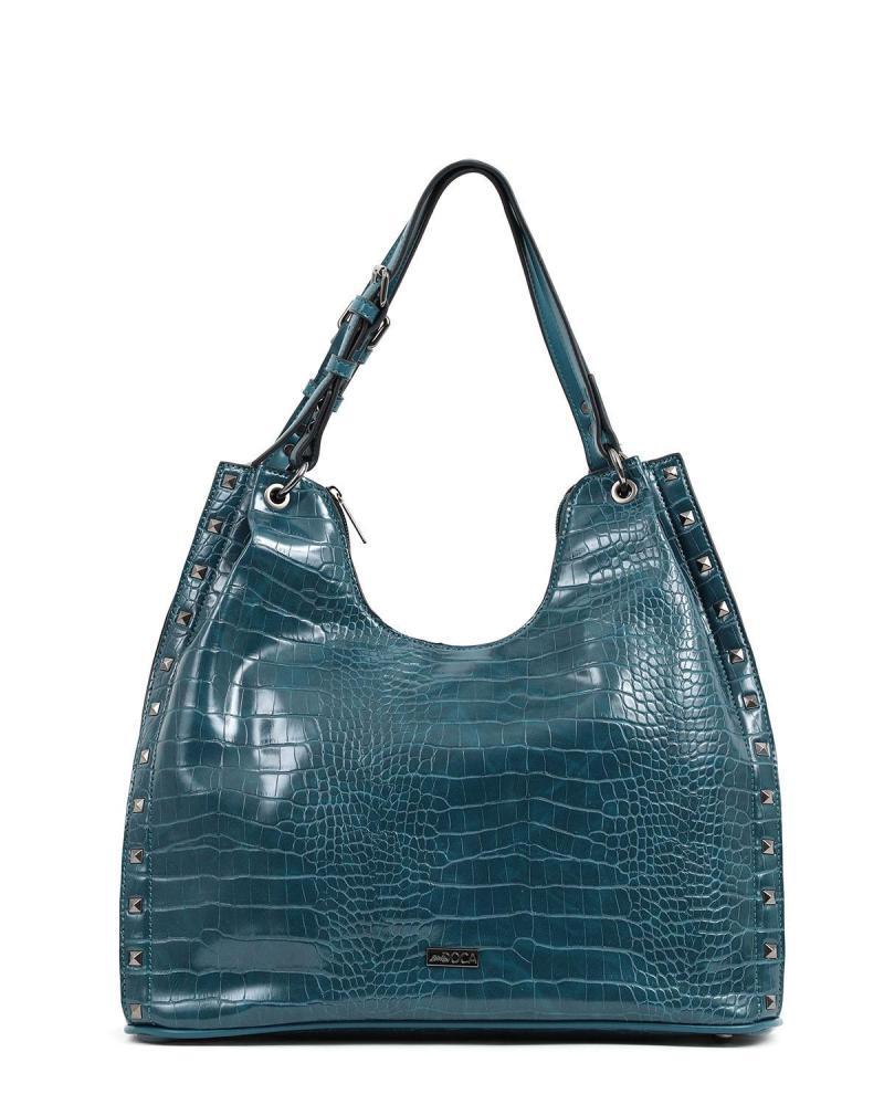 Blue shoulder bag/handbag