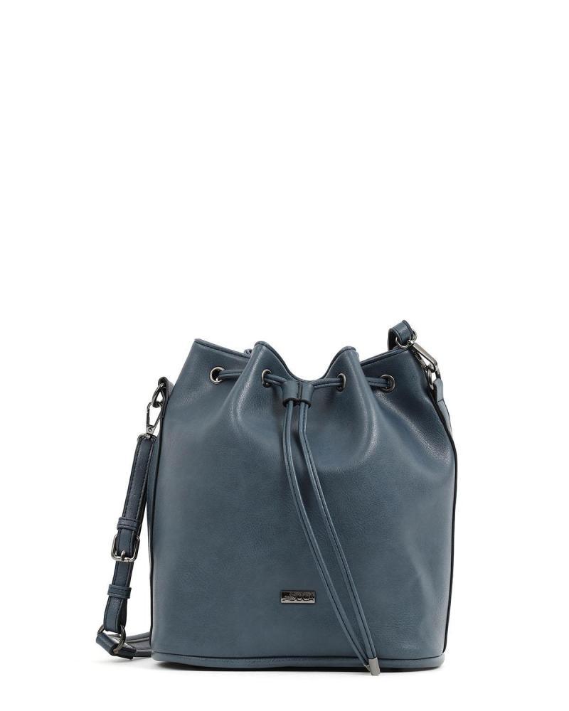 Τσάντα πουγκί μπλε