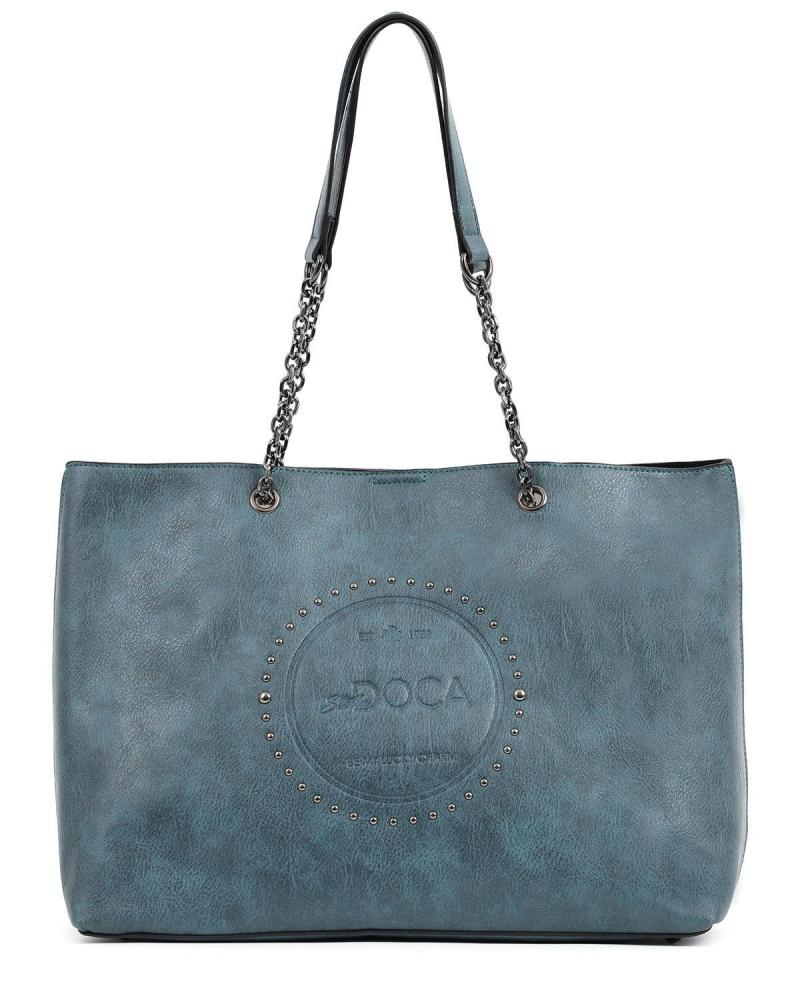 Blaue schultertasche/handtasche