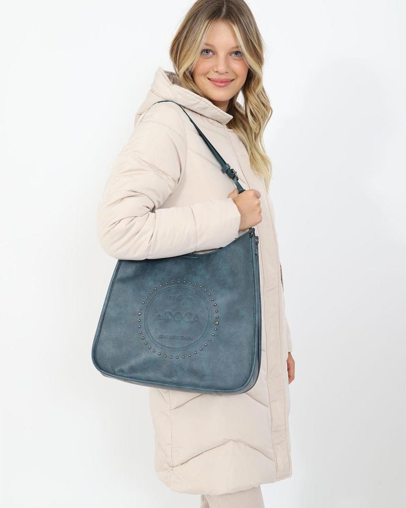 Brown shoulder bag/handbag