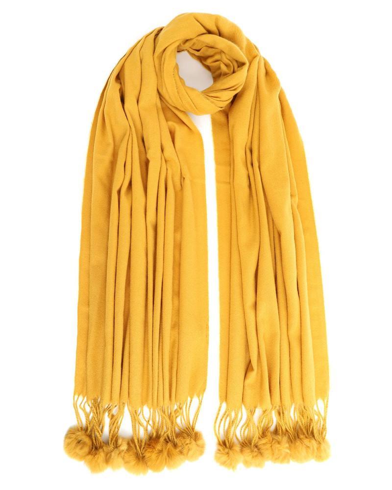 Κασκόλ κίτρινο