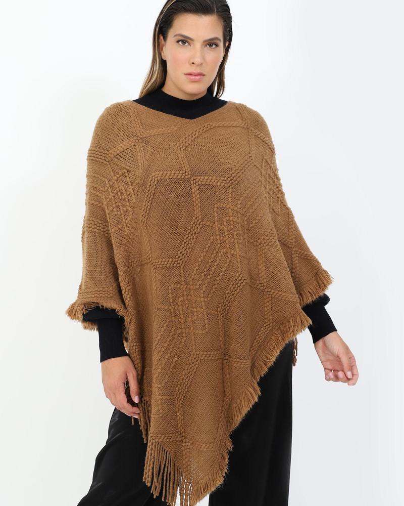 Kamel poncho