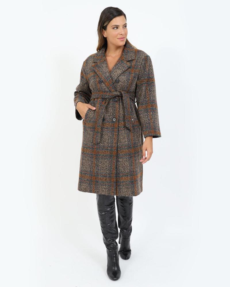Παλτό κάμελ