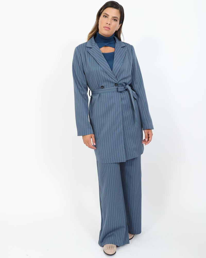 Blau jacke