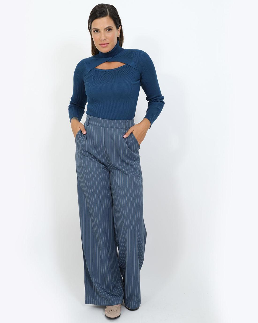 Blue trousers