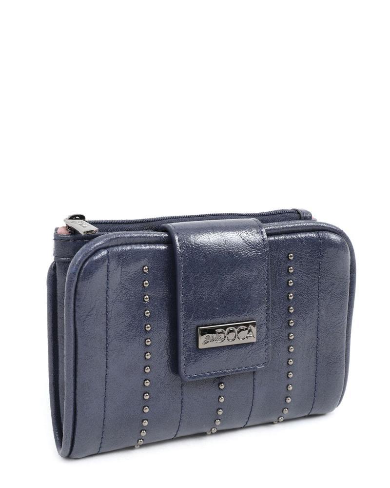 Blue wallet